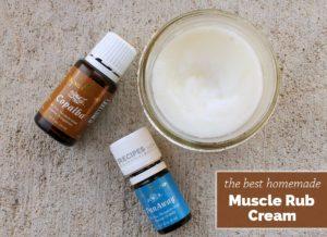 Homemade Muscle Rub Cream