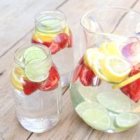 Citrus Water from RecipeswithEssentialOils.com