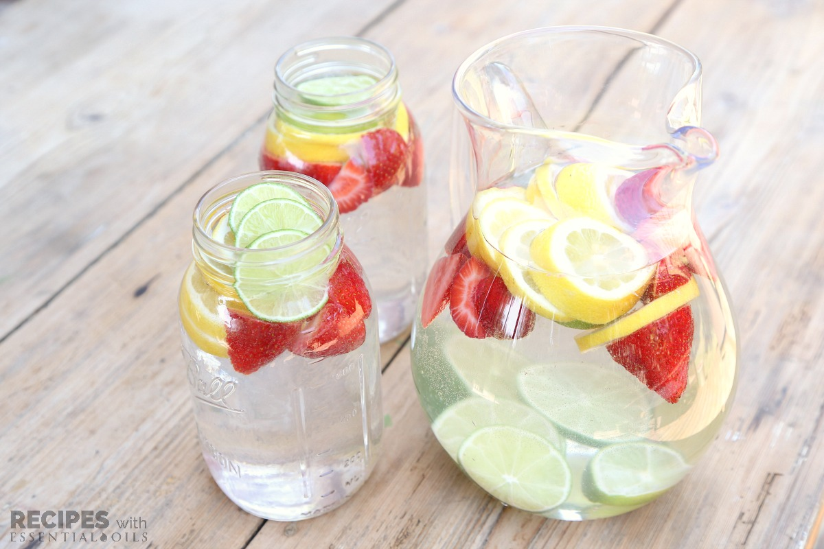 Citrus Water For Daily Hydration Recipes With Essential Oils