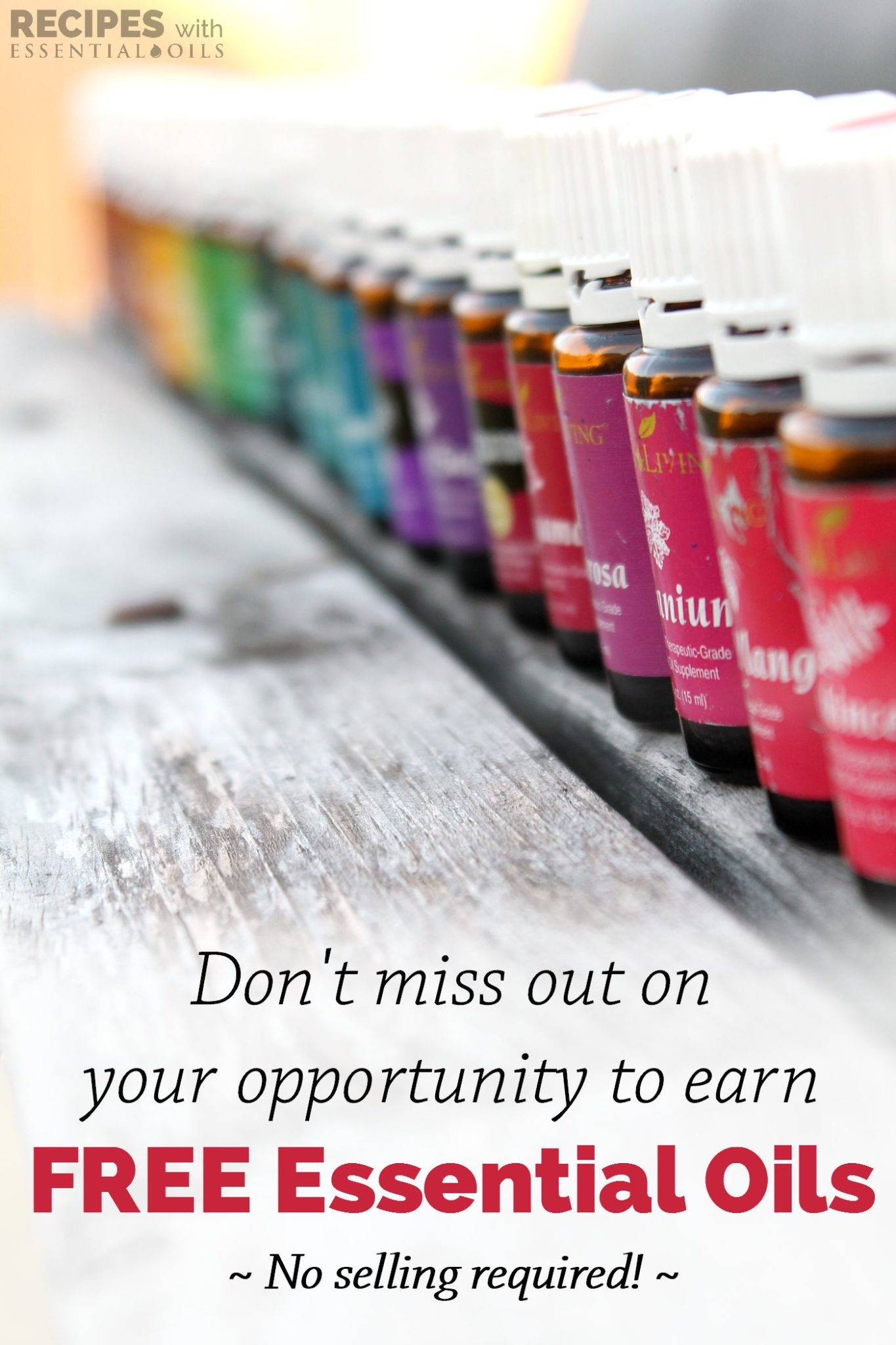 Benefits of the Essential Rewards Program = FREE Oils every month! | RecipesWithEssentialOils.com