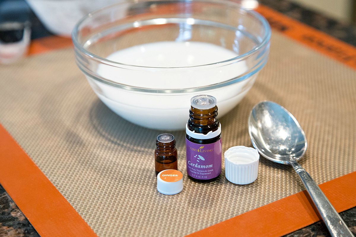 Ginger and Cardamom Essential Oils for Scones Recipe