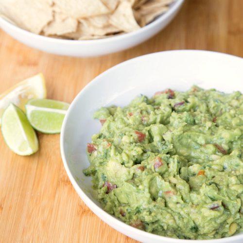 Homemade Lemon Lime Guacamole from RecipesWithEssentialOils.com