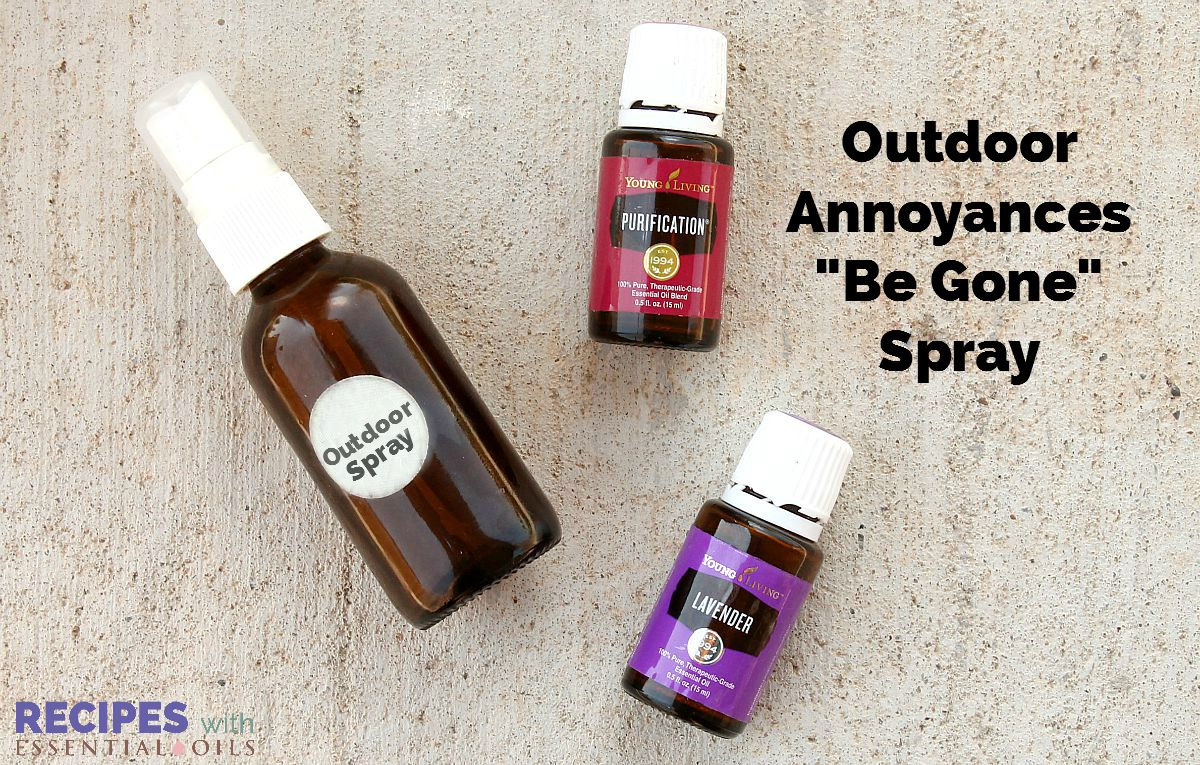 Homemade Outdoor Spray