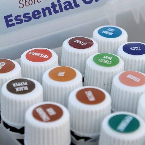 Learn how to safely store and handle essential oils at RecipesWithEssentialOils.com