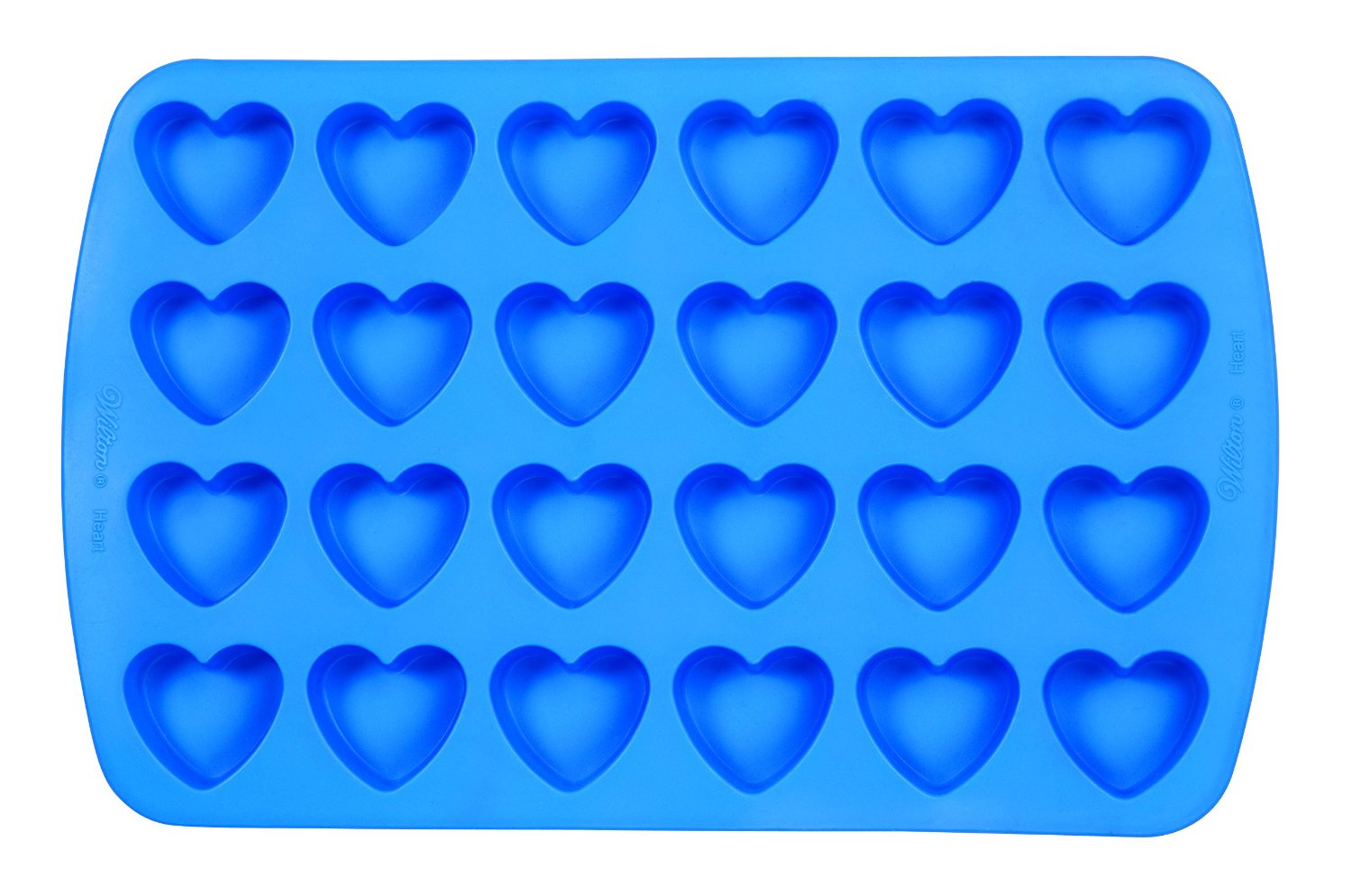 heart shaped silicone molds