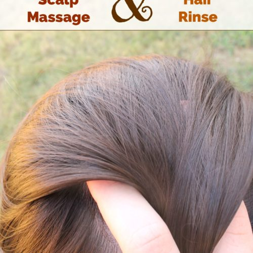2 Healthy Hair Recipes: Nourishing Scalp Massage & Cleansing Hair Rinse | RecipesWithEssentialOils.com