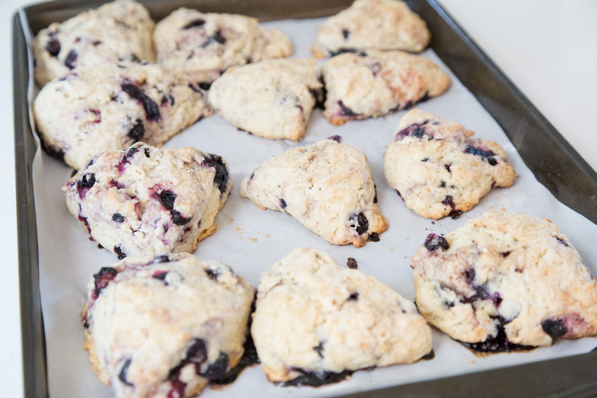 Blueberry Cardamom Scones-16