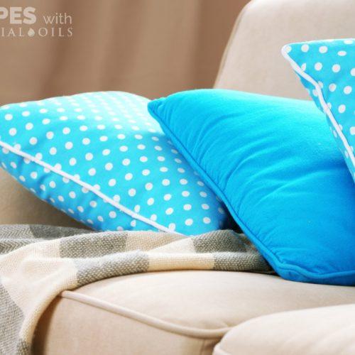 Easy DIY Fabric Refresher from RecipesWithEssentialOils.com