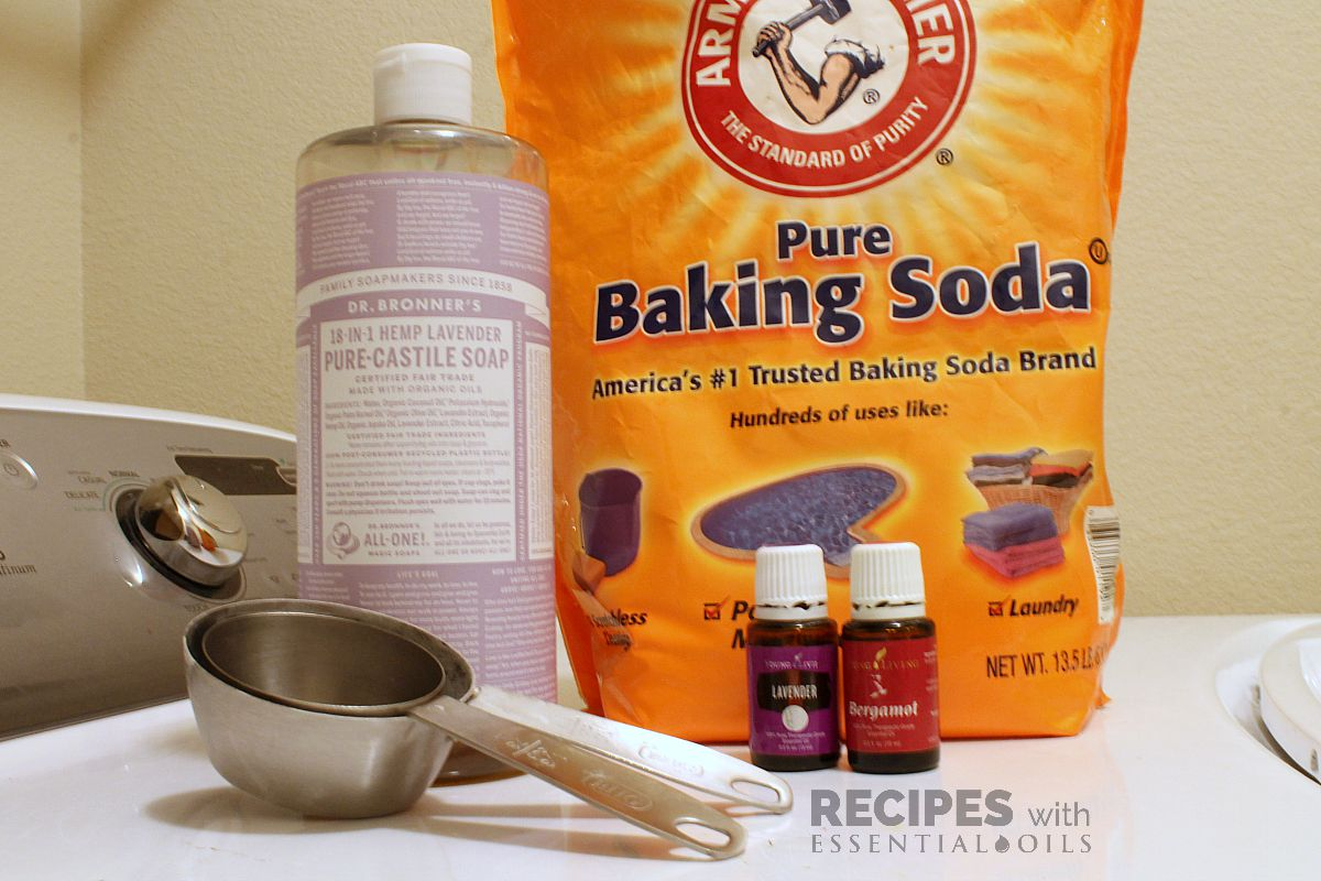 Natural DIY Fabric Softener from RecipesWithEssentialOils.com