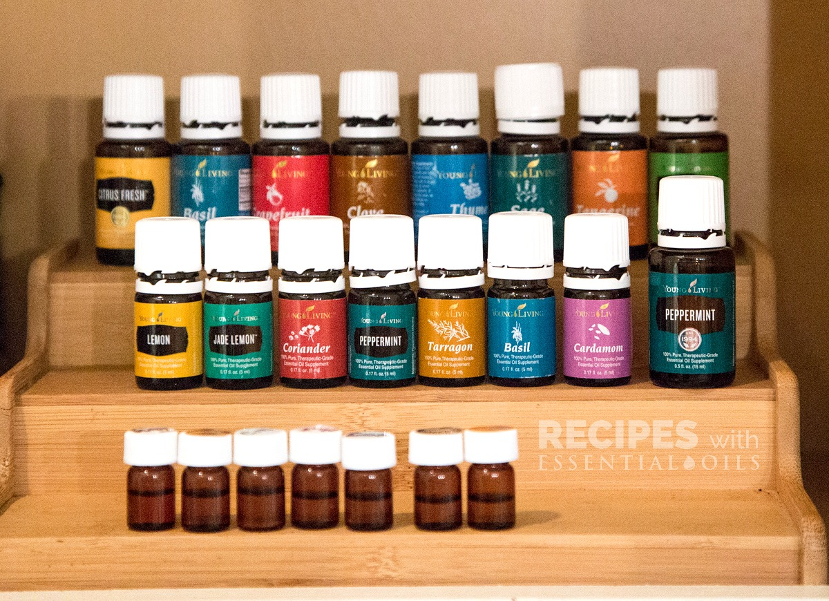 Organize Oils in Your Pantry