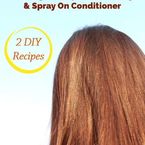 Overnight Deep Conditioning & Spray On Conditioner for Dry Hair from RecipesWithEssentialOils.com