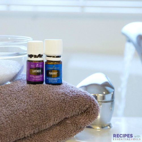 Sore Muscle Soak with Essential Oils | RecipesWithEssentialOils.com
