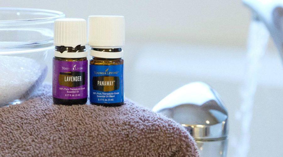Sore Muscle Soak with Essential Oils | RecipesWithEssentialOils.com