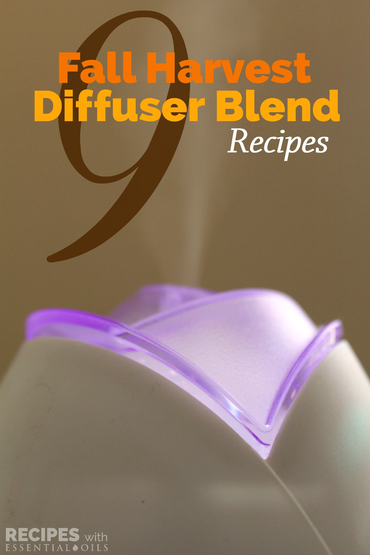 9 Fall Harvest Diffuser Blend Recipes from Recipes with Essential Oils
