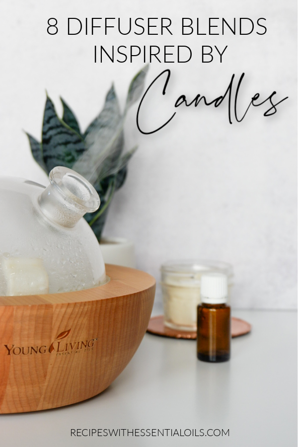 Candle Inspired Essential Oil Diffuser Blends