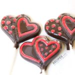 chocolate candy lollipop using essential oils