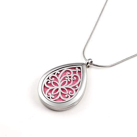 diffuser necklace jewelry essential oils