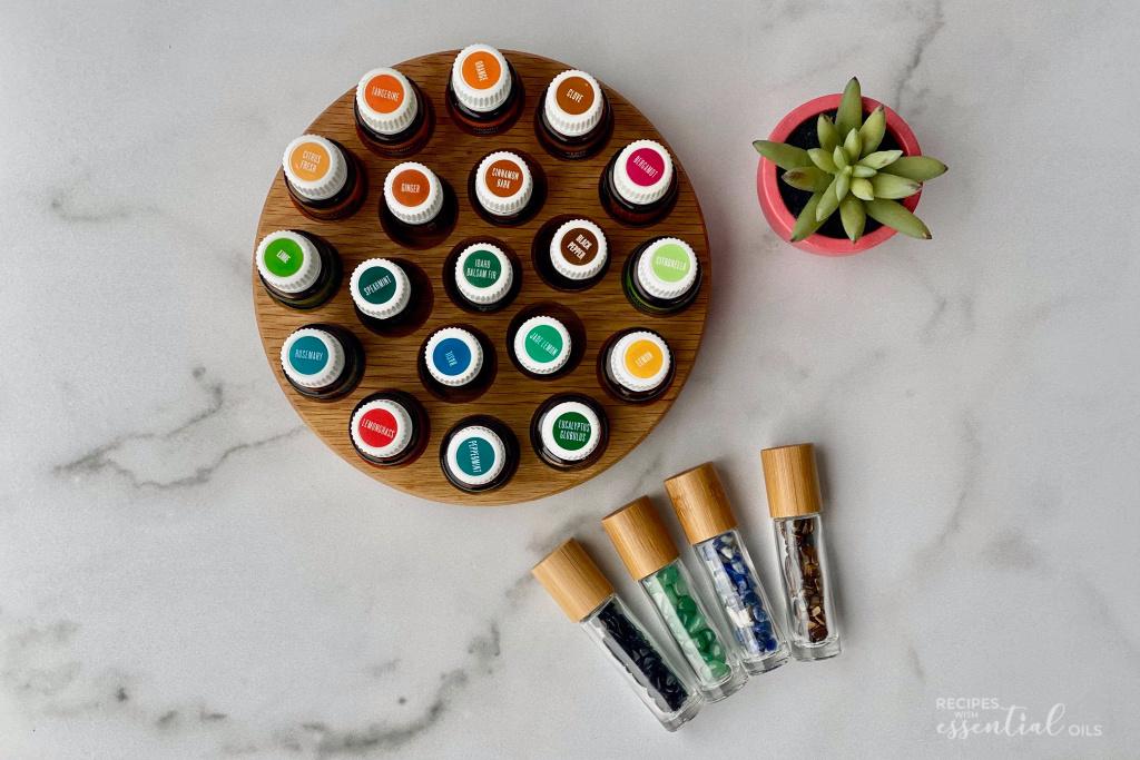 energizing essential oil roller blends