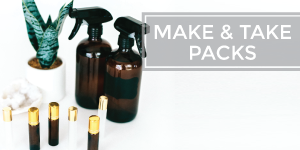 Essential Oil Make and Take Party Packs