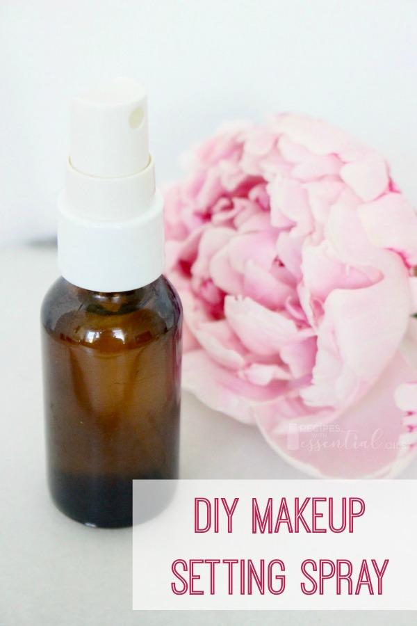 diy makeup setting spray recipe