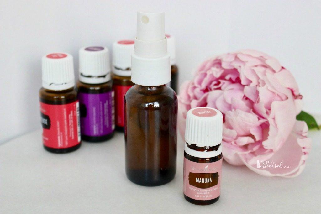 makeup setting spray recipe using essential oils