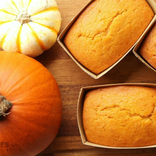 pumpkin bread essential oil
