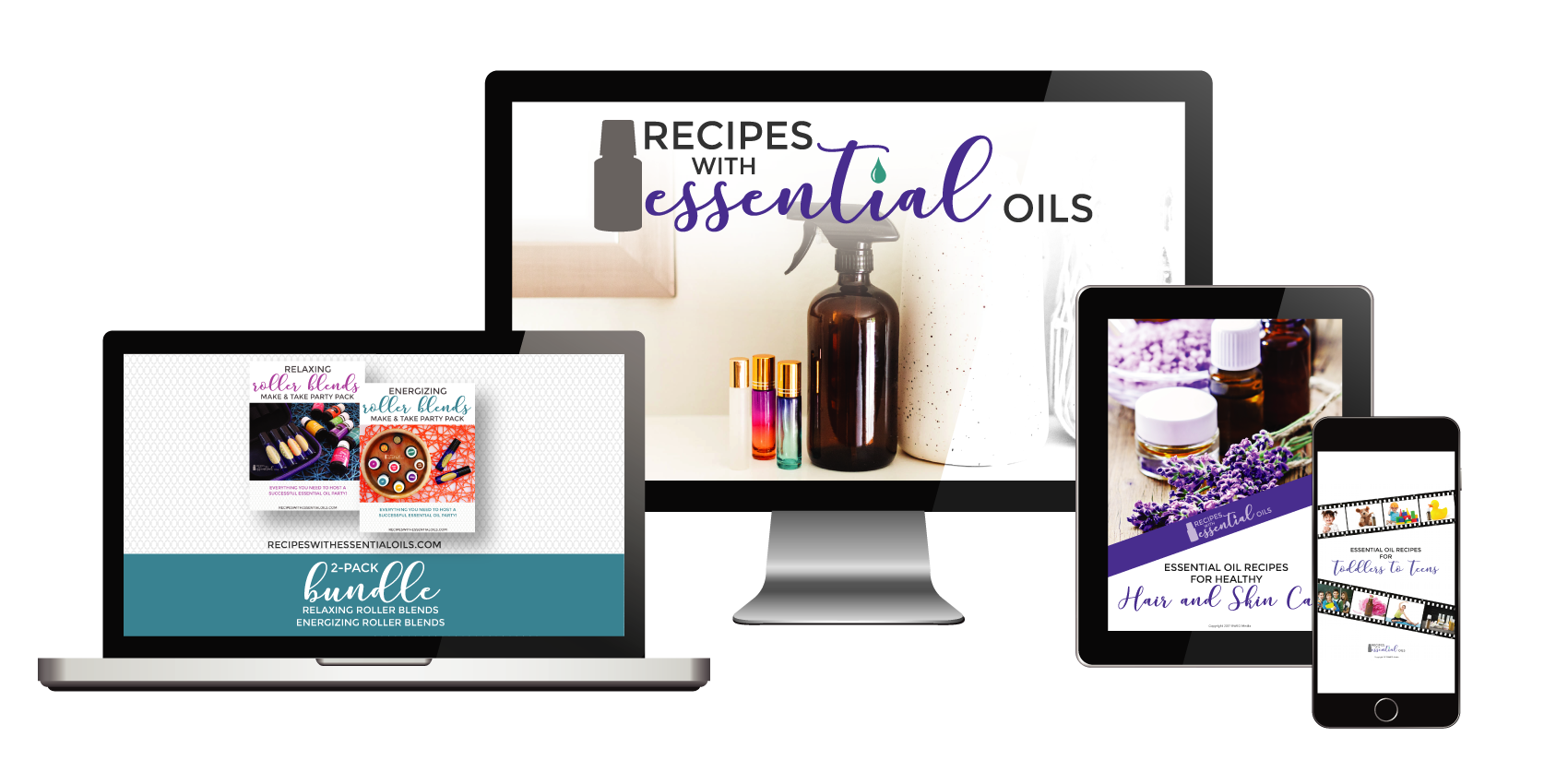 essential oil eBook from RecipewithEssentialOils.com