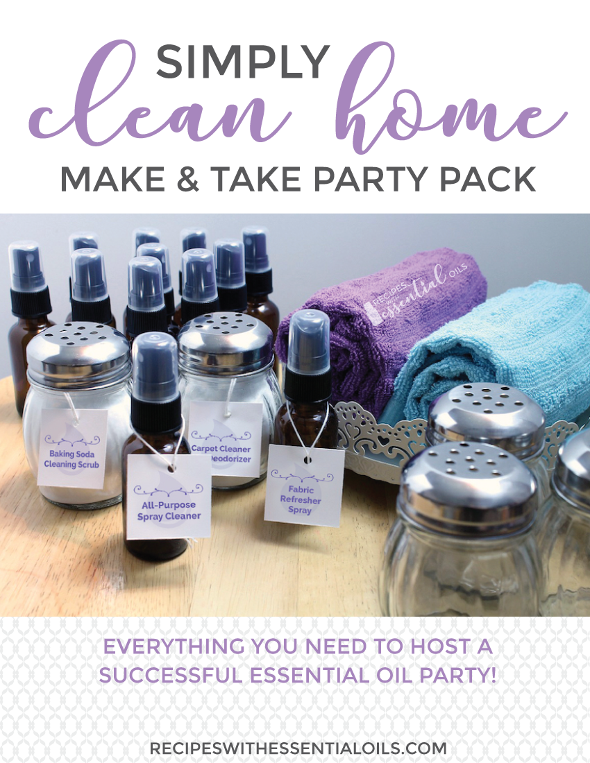 make and take essential oil clean natural home