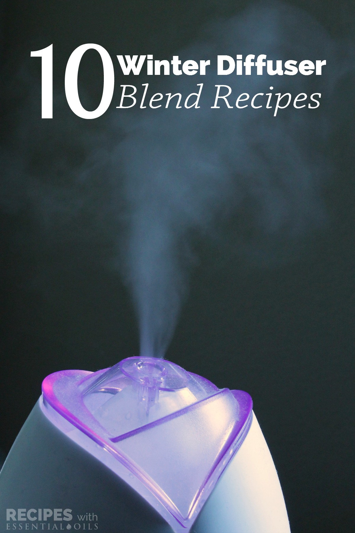 10 Winter Diffuser Blend Recipes from RecipeswithEssentialOils.com