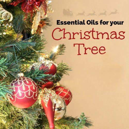 Essential Oils for Your Christmas Tree from RecipesWithEssentialOils.com