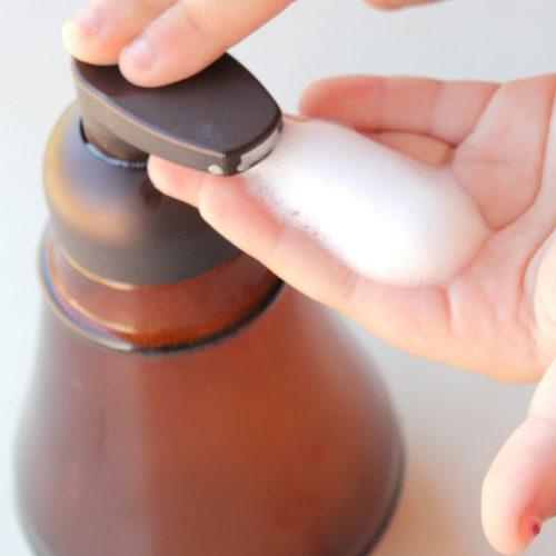 Homemade Foaming Hand Soap from RecipeswithEssentialOils.com