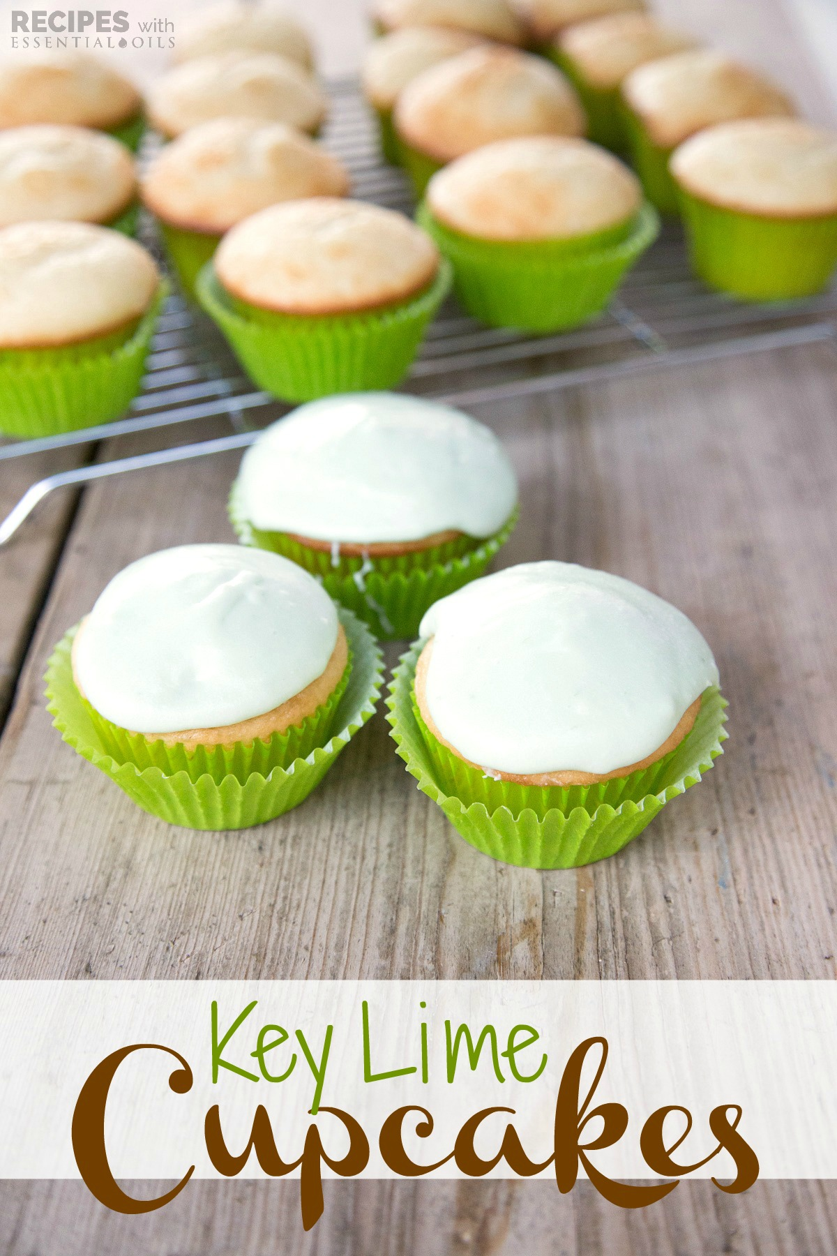 Key Lime Cupcakes Recipes With Essential Oils