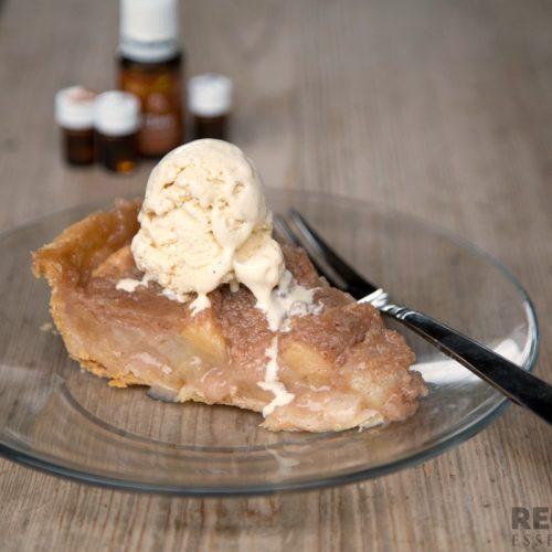 Pear Apple Pie from RecipeswithEssentialOils.com