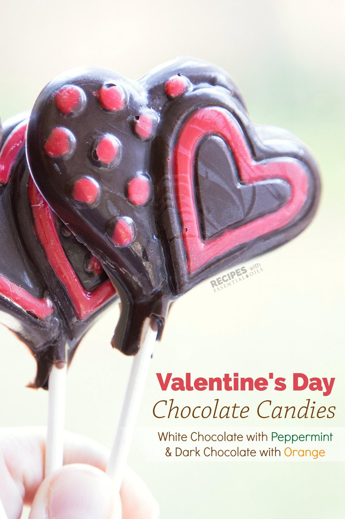 Homemade Chocolate Candy With Essential Oils From  RecipeswithEssentialOils.com