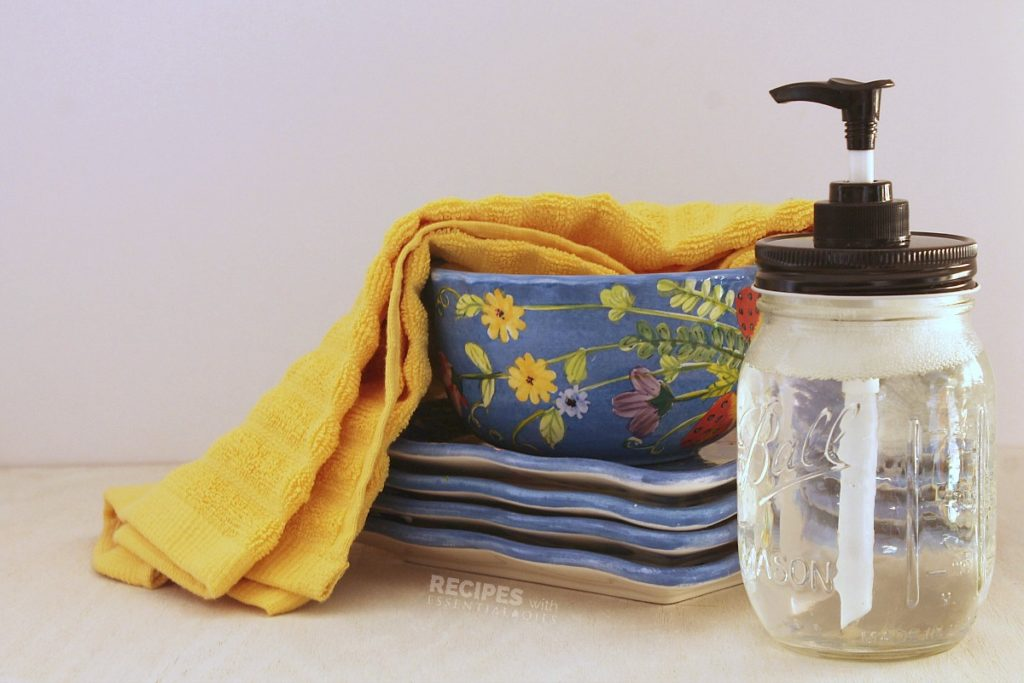 Homemade Liquid Dish Soap