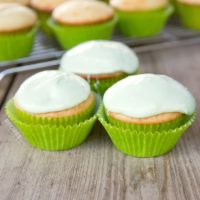Key Lime Cupcakes from RecipeswithEssentialOils.com