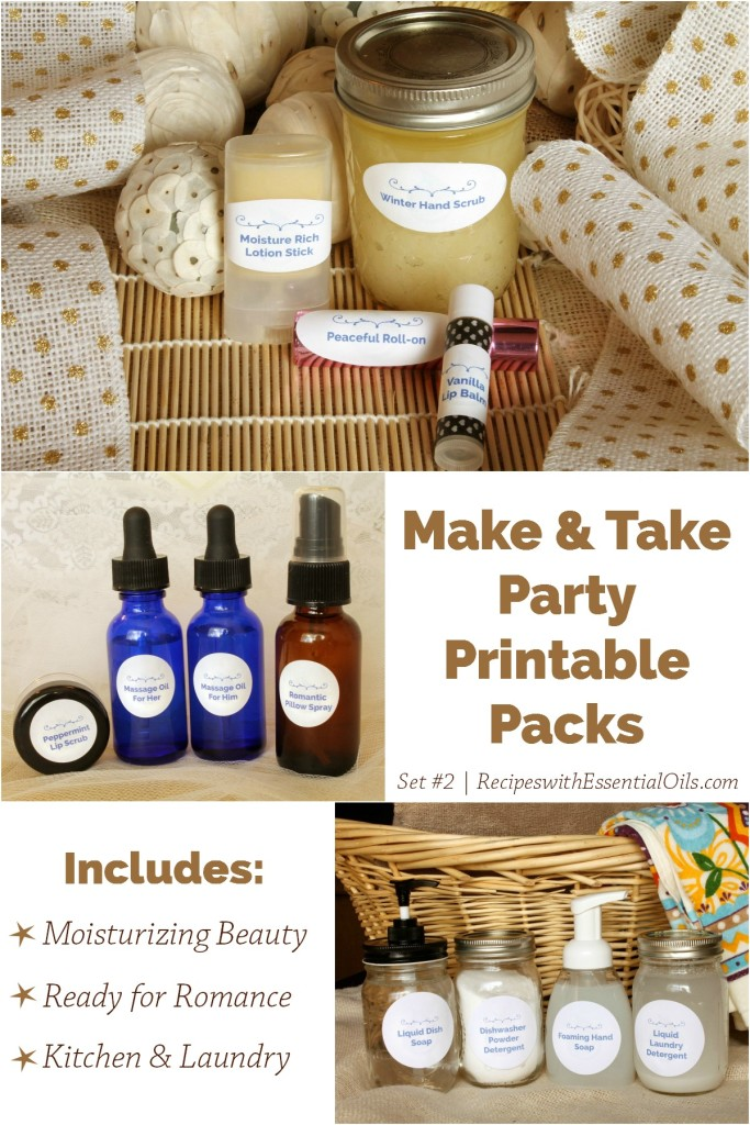 Make & Take 2 Printable Packs