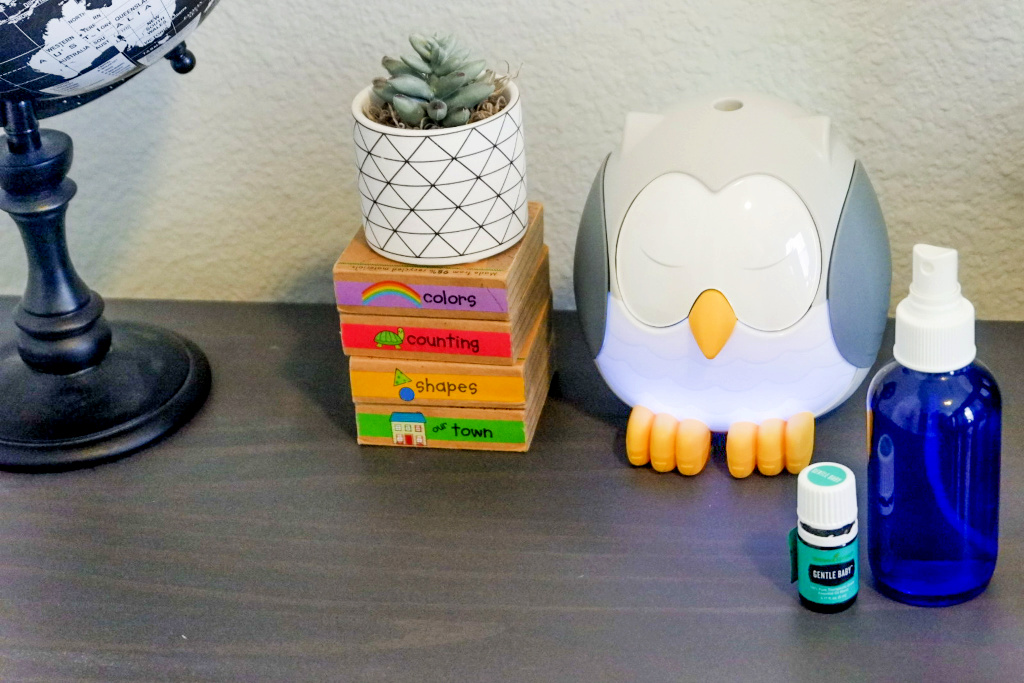 feather the owl young living diffuser