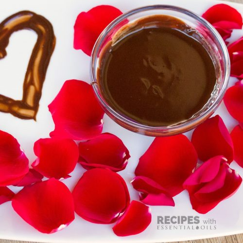 Homemade Chocolate Body Paint Recipe from RecipeswithEssentialOils.com