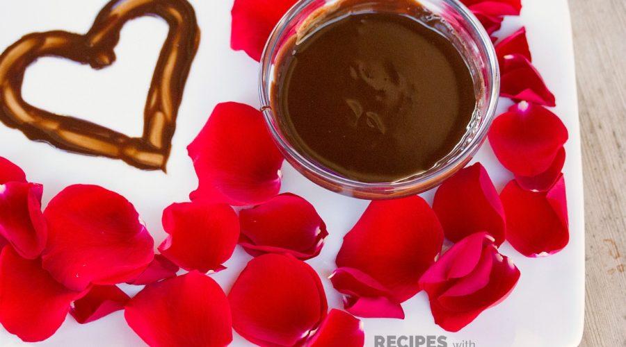Homemade Chocolate Body Paint Recipe from RecipeswithEssentialOils.com