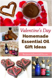 Homemade Essential Oil Gift Ideas for Valentine's Day