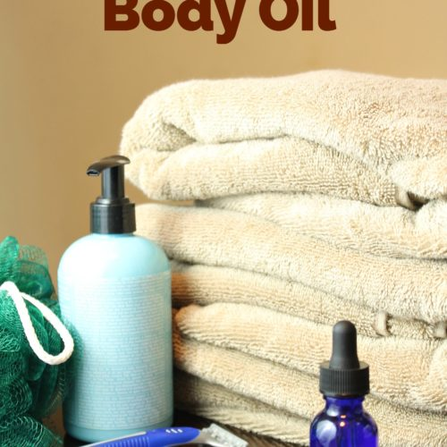 Moisturizing After Shower Body Oil from RecipeswithEssentialOils.com