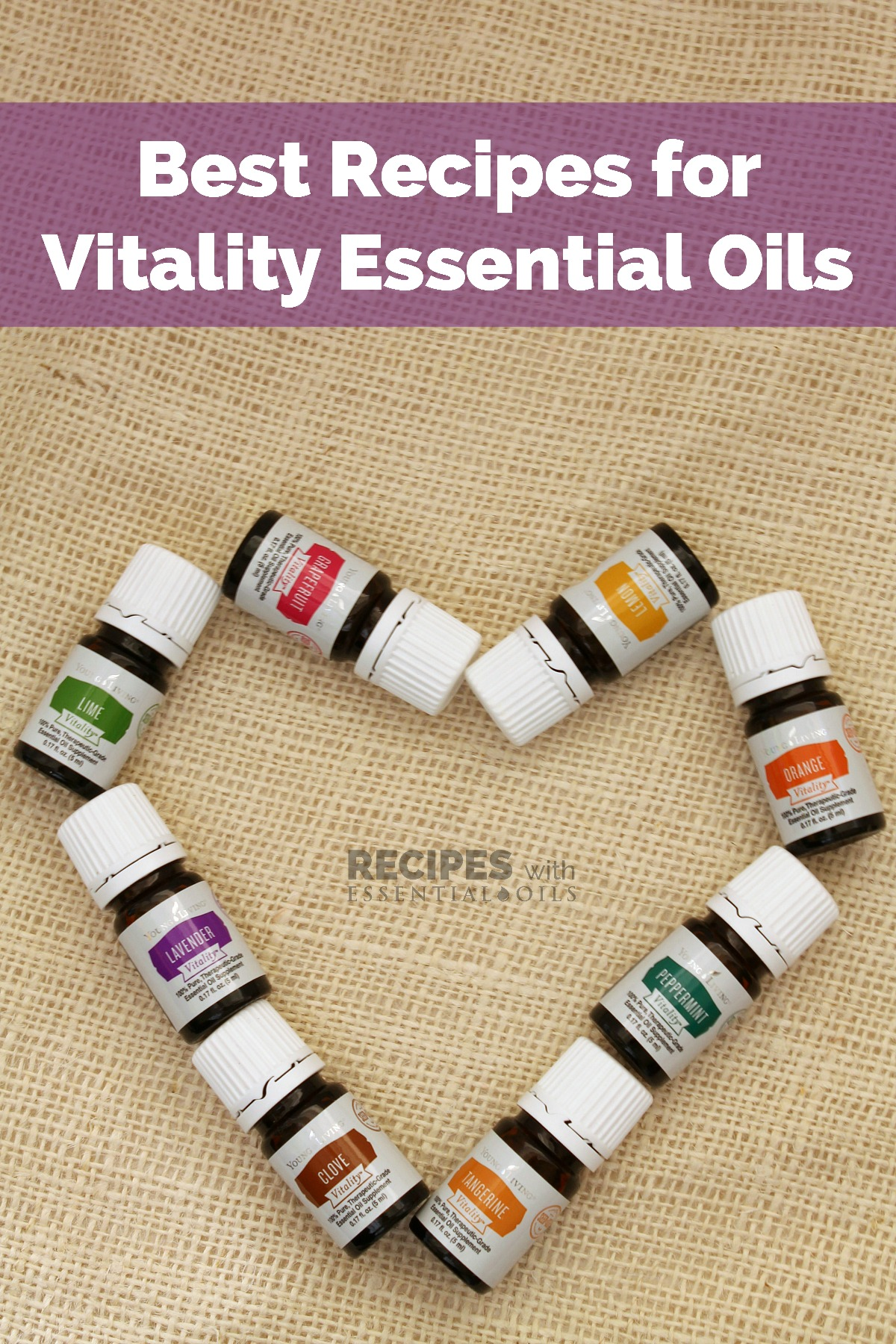 Best Recipes using Young Living's Vitality Essential Oils from RecipeswithEssentialOils.com