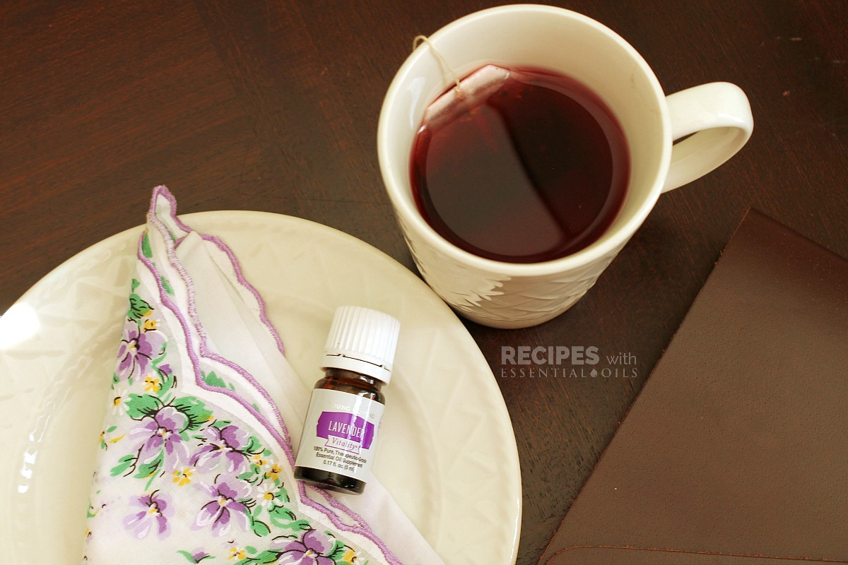 Lavender Chamomile Relaxing Bedtime Tea
