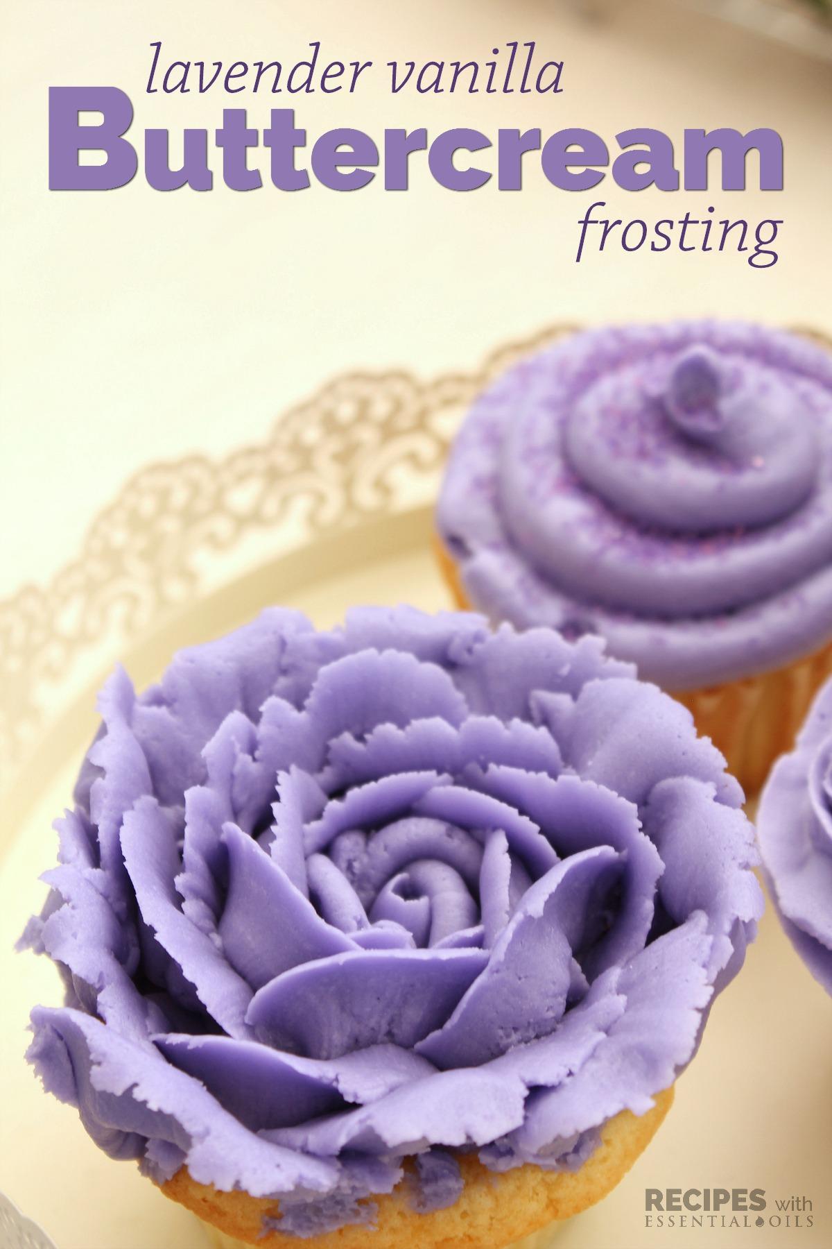 Perfect Lavender Vanilla Buttercream Frosting Recipe