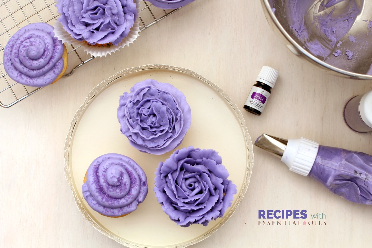 Lavender Extract Cake Recipe