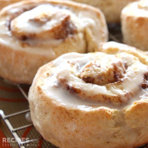 Orange Cinnamon Biscuits from RecipeswithEssentialOils.com
