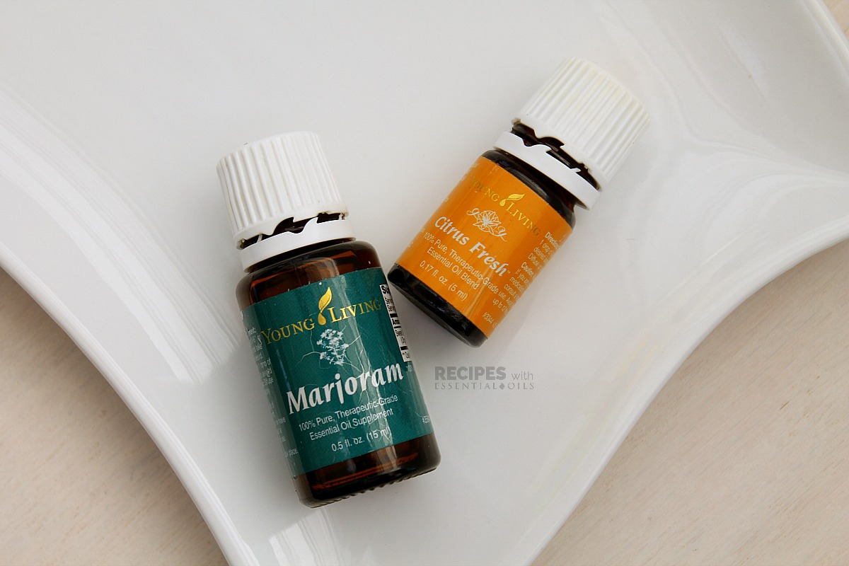 Relaxing Diffuser Blends Marjoram and Citrus Fresh