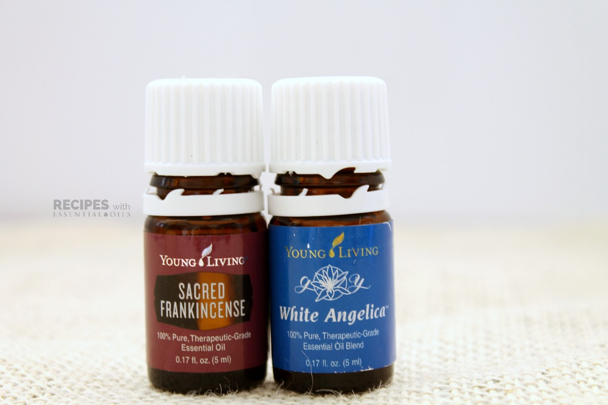 Relaxing Diffuser Blends Sacred Frank and White Angelica