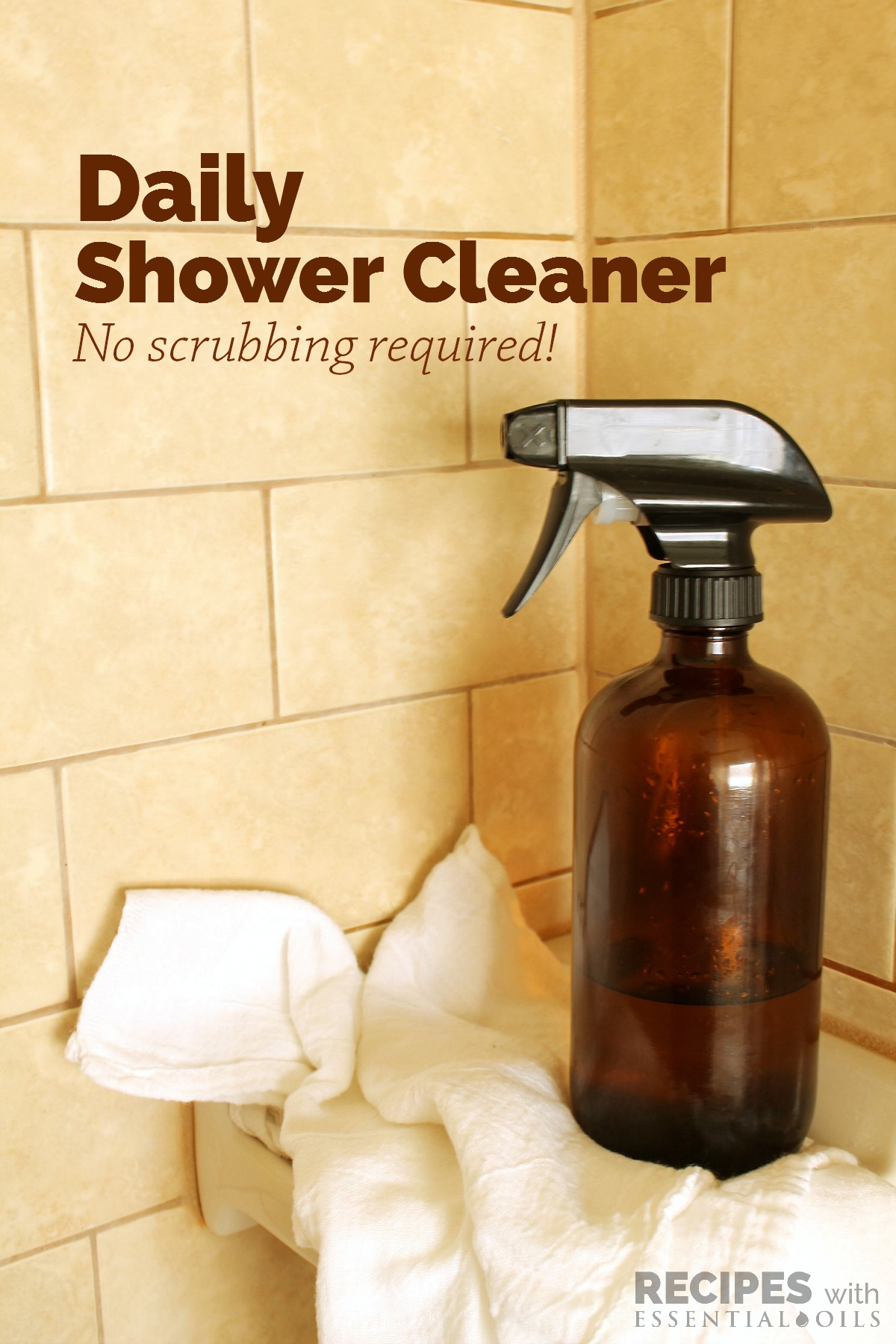 Daily Shower Cleaner - Recipes with